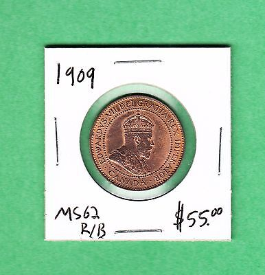 1909 Canada - Large Cent - MS-62 - Edward VII