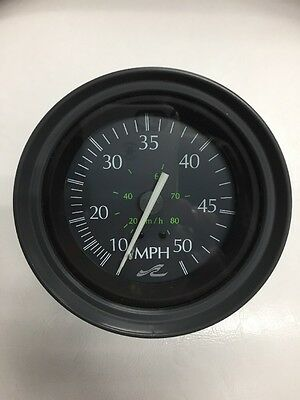 Sea Ray Teleflex 50 Mph Speedo Gauge~Speedometer~27510~Speedo~1990's Era~Nos