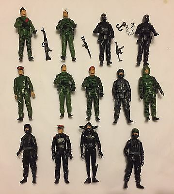 Action Force GI Joe - Early figure Lot With Some Accessories