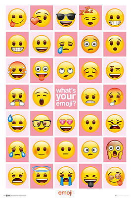 EMOJI What's Your Emoji (Global)  Maxi Poster  size 61 X 91.5 cm   GN0854