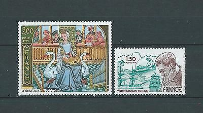 FRANCE - 1979 YT 2033 à 2034 - TIMBRES NEUFS** LUXE