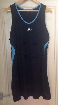 Ladies Navy Netball Dress - Size 16
