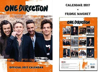 One Direction Official 2017 Calendar + One Direction Warning Door Sign