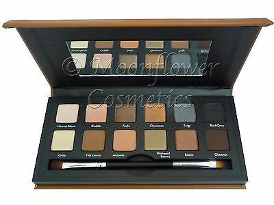 New! Cargo Cosmetics Vintage Escape Eye Shadow Palette 12 Colours & Brush Value!