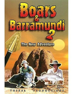 DVD - Boars and Barramundi 2 - The New Adventure by Tusker Productions