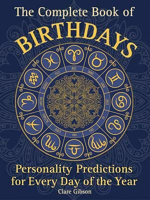 NEW The Complete Book of Birthdays By Clare Gibson Paperback Free Shipping