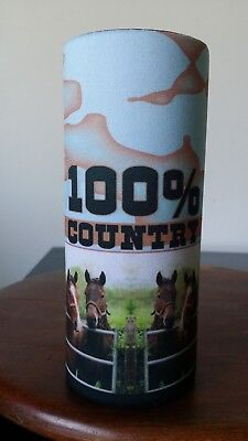 HORSES -Stubby holder- 10+ DESIGNS TO CHOOSE FROM - GREAT GIFT