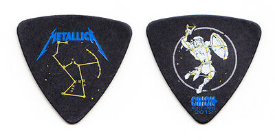 Metallica Robert Trujillo Orion Festival Black Bass Guitar Pick - 2012 Tour