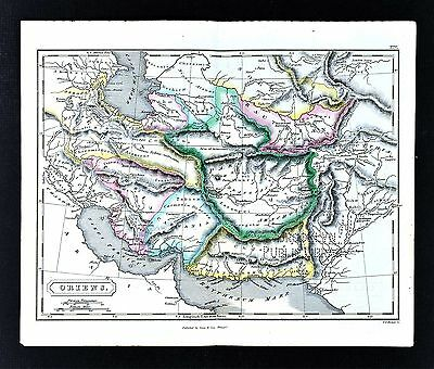1831 Carey & Lea Map  Oriens - Ancient Middle East Persia Media Iran Afghanistan