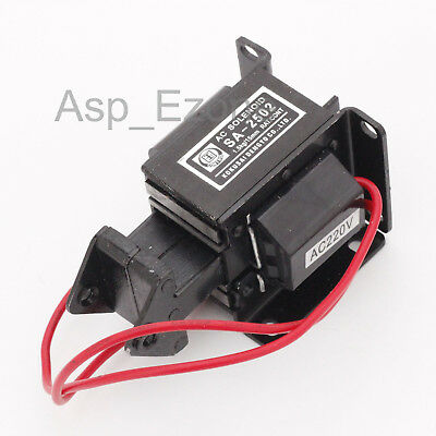 SA-2502 AC220 1.5kg/15mm AC Tractive Solenoid Electromagnet for industrial UK