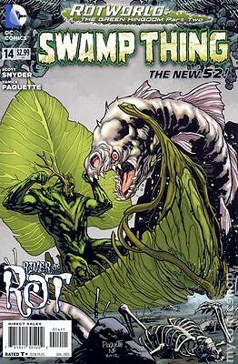 Swamp Thing (2011 5th Series) #14A VF