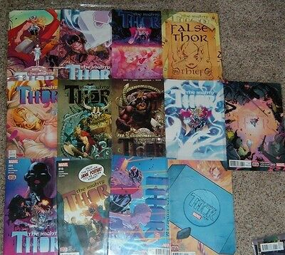 Marvel 2016 Mighty GIRL Thor Set 1 2 3 4 5 6 7 8 9 10 11 12 13 M/NM First Print