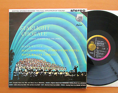 SP 8390 Starlight Chorale Roger Wagner Hollywood Bowl Symphony Capitol Stereo NM