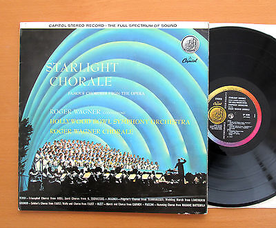 SP 8390 Starlight Chorale Roger Wagner Hollywood Bowl Symphony Capitol Stereo