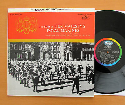 DT 10000 The Band Of Her Majesty's Royal Marines Capitol Stereo NEAR MINT