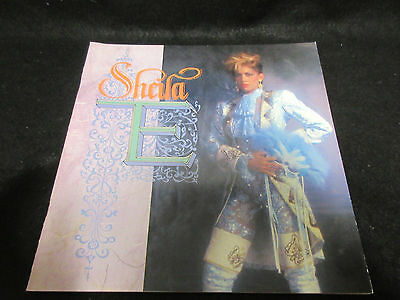 Sheila E 1985 Japan Tour Book Concert Program