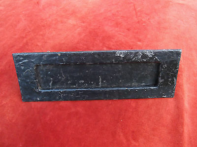 Vintage Large Heavy Wrought Iron Letterbox/cast Iron Letter Receiver/letterbox