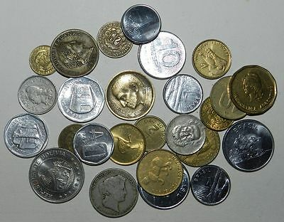 25 X COINS FROM SOUTH AMERICA - Nice Lot