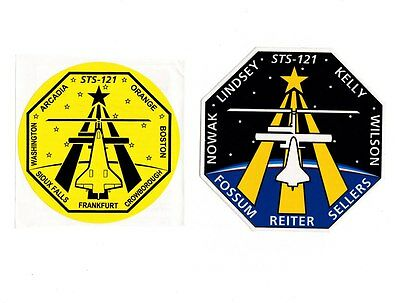STS-121 stickers / decals - scarce First Birthplace Emblem