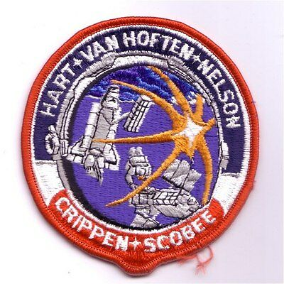 STS-41C space shuttle mission patch - Cape Kennedy Medals version