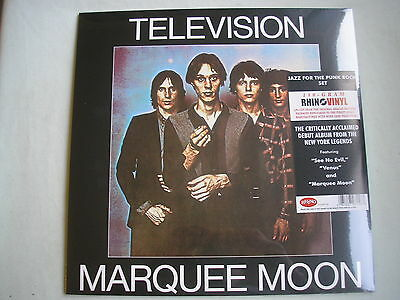 TELEVISION Marquee Moon LP 180g 2015 new mint sealed Rhino remaster