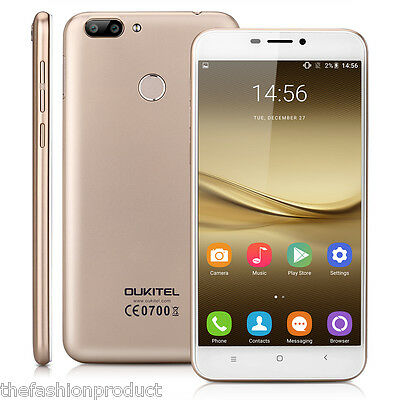 OUKITEL 5,5'' Pollici 4G Smartphone Android 6.0 2GB 16GB OctaCore Cellulare GPS