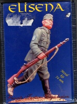 ELISENA 10208 - PRIVATE OF TARTAR-VOLGA LEGION 1939/45 - 54mm METAL - NUOVO