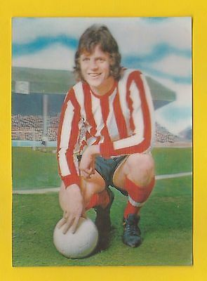 The  Sun  -  Rare  3D  Football  Card -  Mike  Channon  Of  Southampton  -  1972
