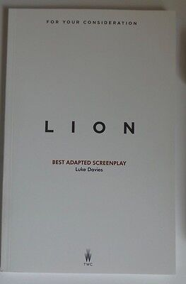LION FYC For Your Consideration screenplay script