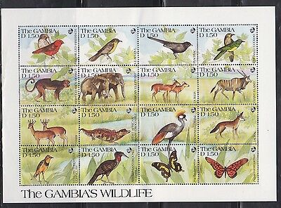Gambia 1063 Wildlife Mint NH