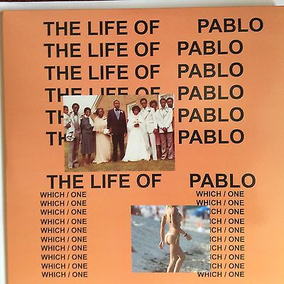 "Kanye West "" The Life Of Pablo  "" New Lp ** Coloured Vinyls ** Rare **"