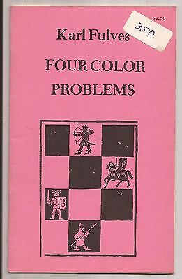 FOUR COLOR PROBLEMS by Karl Fulves 1979