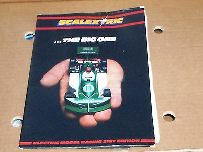 SCALEXTRIC ....THE BIG ONE Electric Model Racing 21st Edition Vintage Catalogue