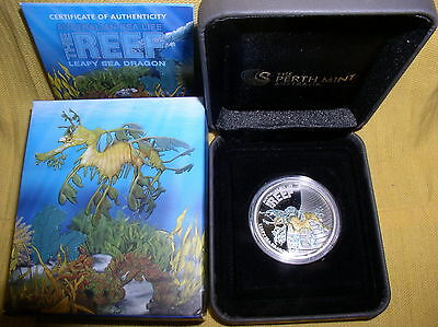 Australien 1/2 oz Silber 2009 Sea Life I  -  Sea Dragon