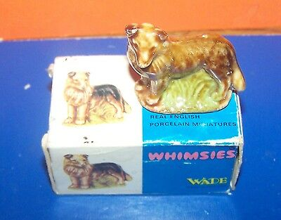 Wade  Whimsie Rare Dog With Own Box