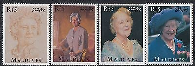 (95015) Maldives MNH Queen Mother 95th Birthday 1995 unmounted mint