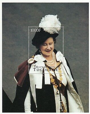 (95068) Togo MNH Queen Mother 95th Birthday 1995