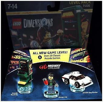 Warner-Lego Dimensions Level Pack Midway Arcade-Multiplattform  New