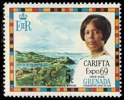 GRENADA 316 (SG336) - Governor Hilda Bynoe and View of St. George's (pf7531)