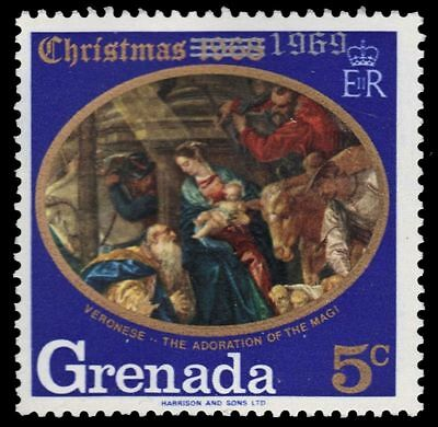 "GRENADA 342 (SG364) - Christmas ""Adoration of the Magi"" by Veronese (pf7413)"
