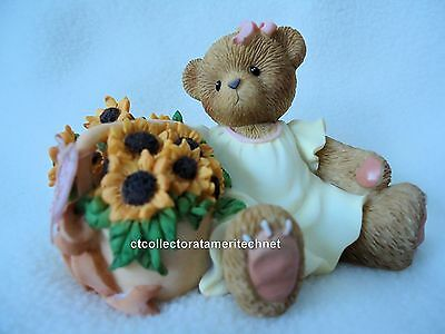Cherished Teddies The Beauty of Mum's Love Blooms Forever 2009  NIB