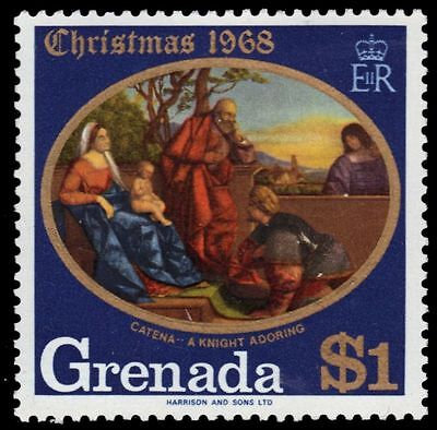 "GRENADA 293 (SG329) - Christmas ""A Knight Adoring the Infant Christ"" (pf7447)"