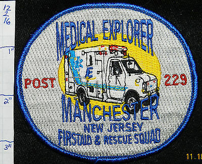 New Jersey, Manchester Medical Explorer Rescue Squad Ambulance Patch
