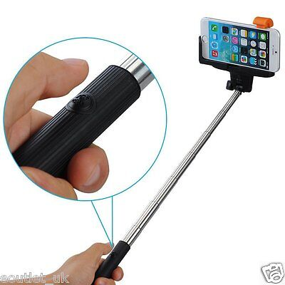 Monopod Selfie Stick Self Built-in Bluetooth Remote for iPhone 7/6s/SE/5c Holder