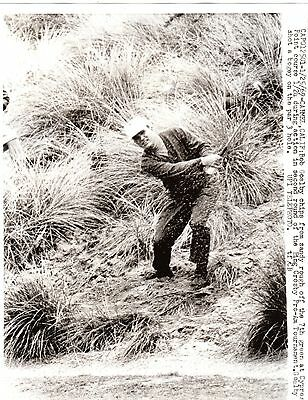 Vintage Golf Photograph Bob Goalby Bing Crosby Pro Am Cypress Point Carmel 1969