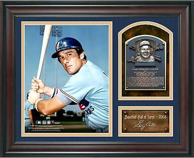 Gary Carter Baseball Hall of Fame Framed 15x17 Collage w/ Facsimile Signature