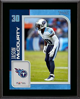 Jason McCourty Tennessee Titans 10.5'' x 13'' Sublimated Player Plaque