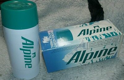 Rare Vintage Alpine Cigarettes Advertising Thermos Thermal Jug With Box!