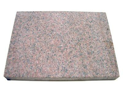 "Red Granite Surface Plate 12x18x2 Flatness 0.0002"" New"