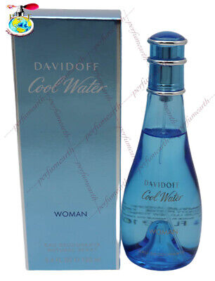 Cool Water By Davidoff Deo Spray For Women 3.4/3.3 oz/100ml New In Box